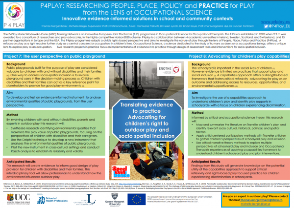 Conference poster – Innovative evidence informed solutions in school and community contexts